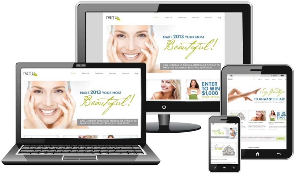 Harper Media Responsive Website Design