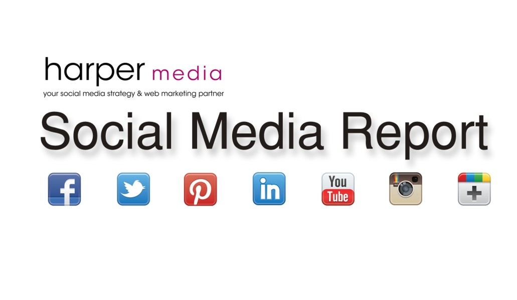 Harper Media social media report